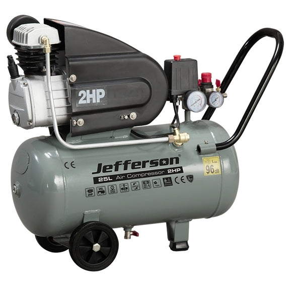 Jefferson 25 Litre 2 HP Compressor