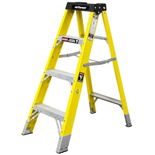 Jefferson 3+1 Tread Fibreglass Step Ladder