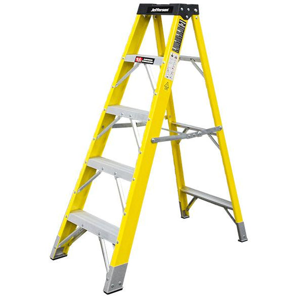 Jefferson 4+1 Tread Fibreglass Step Ladder