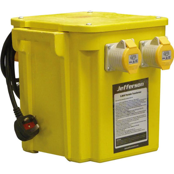 Jefferson 5.0 KVA Portable Transformer