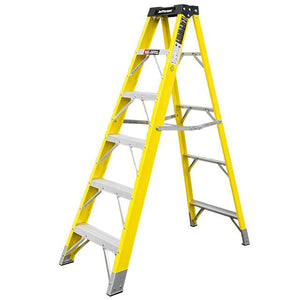 Jefferson 5+1 Tread Fibreglass Step Ladder