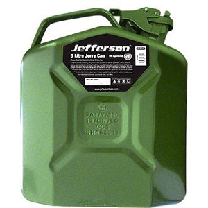 Jefferson 5 Litre Green Jerry Can