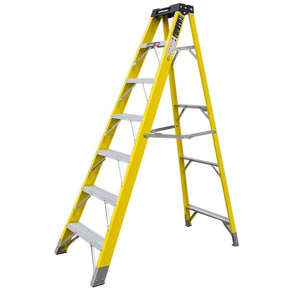 Jefferson 6+1 Tread Fibreglass Step Ladder