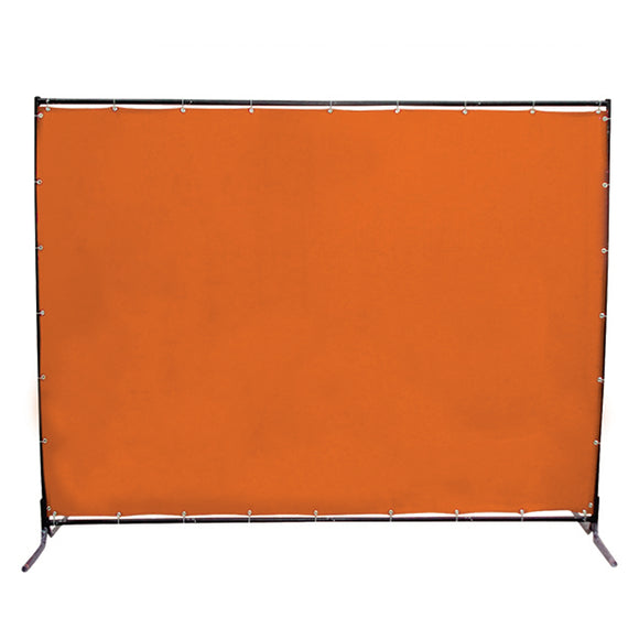Jefferson 6x6ft Welding Curtain with Frame