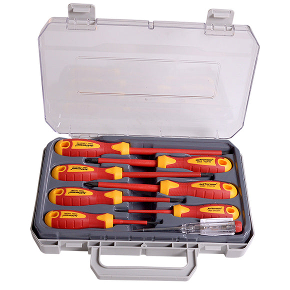 Jefferson 8 Piece VDE Screwdriver Set