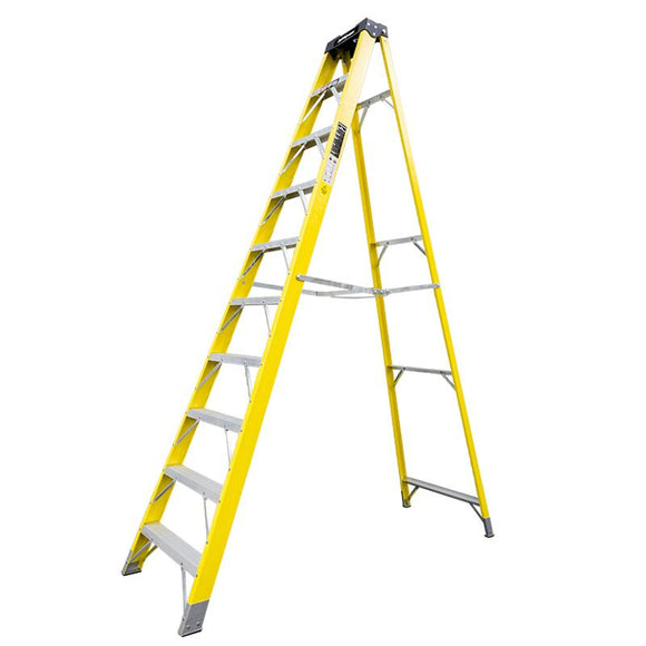 Jefferson 9+1 Tread Fibreglass Step Ladder