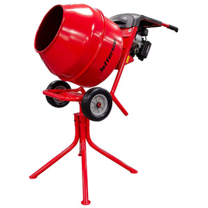 Jefferson Red Petrol Cement Mixer (Loncin Engine)