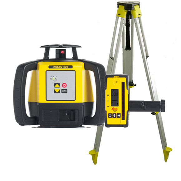 Leica Rugby 620 Laser Level - FULL KIT