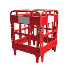 Portagate® 4 Gate Compact Barrier - Red