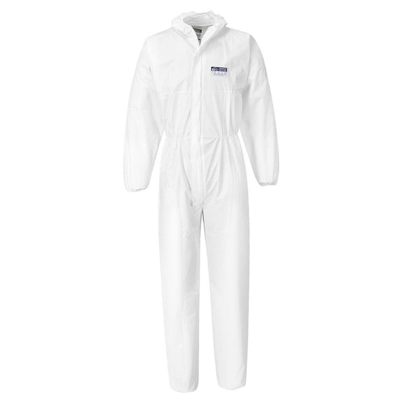 PORTWEST BIZTEX MICROPOROUS COVERALL / SUIT TYPE 6/5