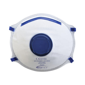 PORTWEST FFP2 VALVED DOLOMITE RESPIRATOR (PACK OF 10)