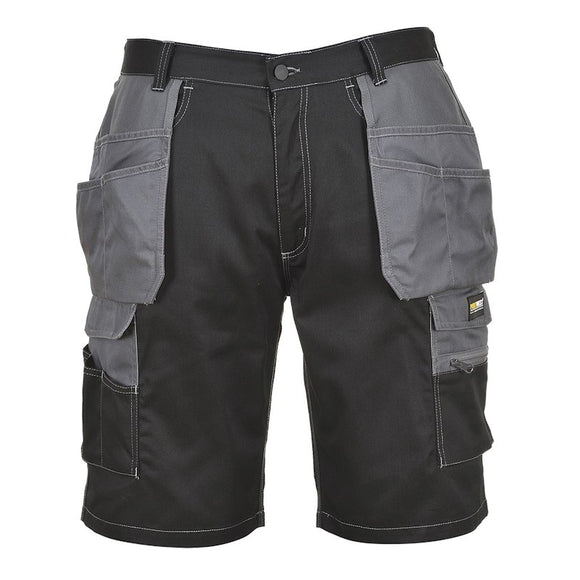 PORTWEST GRANITE HOLSTER SHORTS