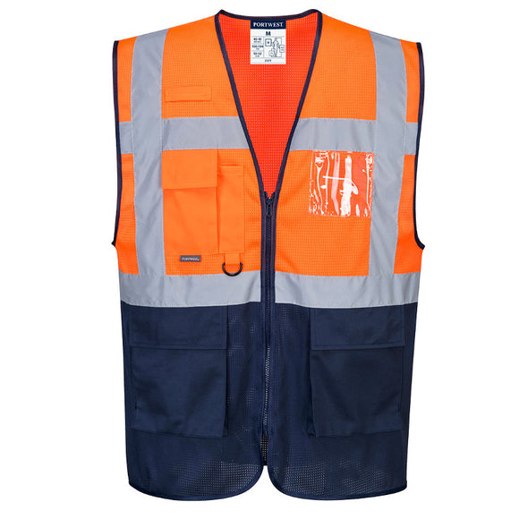 Portwest Hi-Vis Two Tone MeshAir Executive Vest