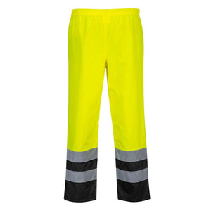 PORTWEST HI-VIS TWO TONE TRAFFIC TROUSERS