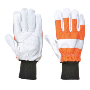 PORTWEST OAK CHAINSAW PROTECTIVE GLOVE (CLASS 0)