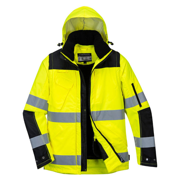 Portwest Pro Hi-Vis 3-in-1 Jacket