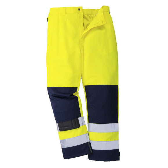 PORTWEST SEVILLE HI-VIS TROUSERS