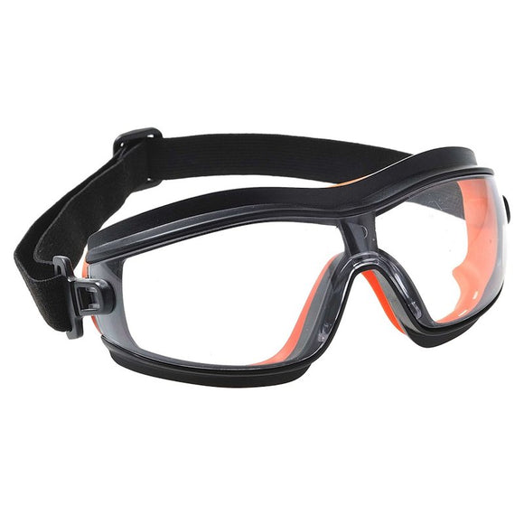 PORTWEST SLIM SAFETY GOGGLES (BOX OF 12)