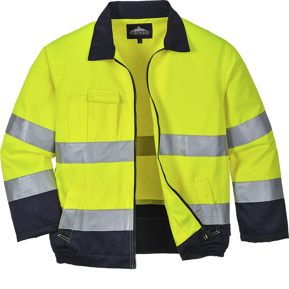 Portwest Texo Madrid Hi Vis Jacket TX70