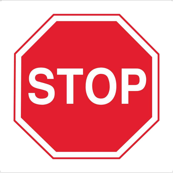 RUS 027 Stop Sign