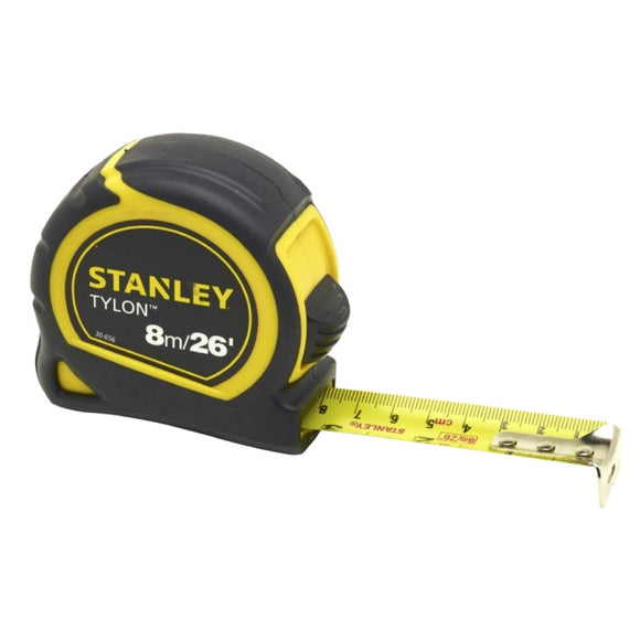 Stanley 8m/26ft Tylon Measuring Tape