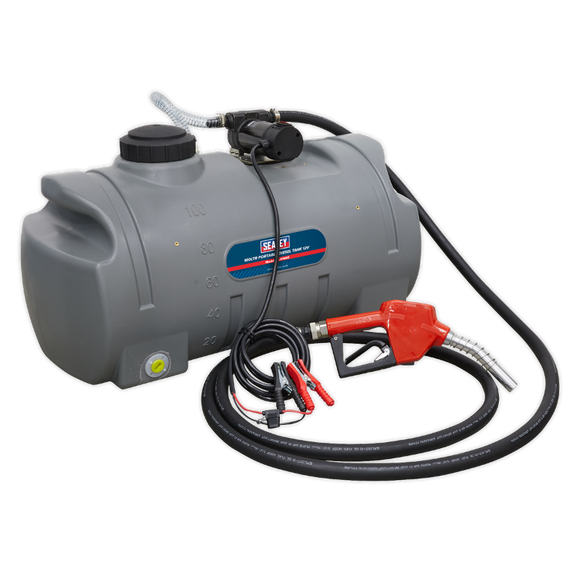 Sealey Portable Diesel Tank 100L 12V