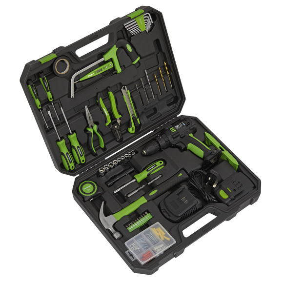 Sealey Tool Kit with Cordless Drill 101pc