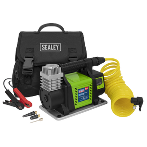 Sealey Digital Tyre Inflator 12V Heavy-Duty