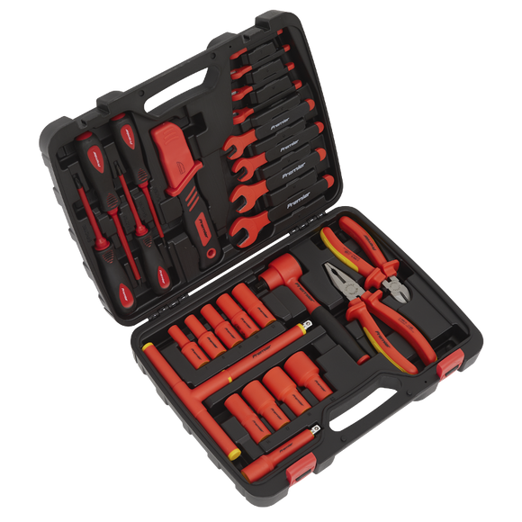 Sealey 1000V Insulated Tool Kit 27pc - VDE Approved