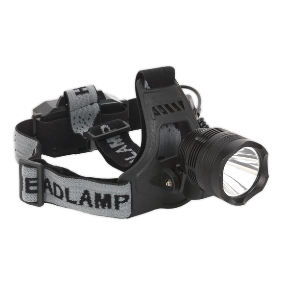 Sealey Head Torch 3W CREE LED Rechargeable
