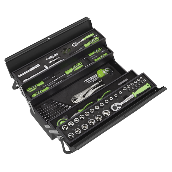 Sealey Cantilever Toolbox with 86pc Tool Kit