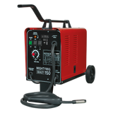 Sealey Professional Gas/No-Gas MIG Welder 150A 230V