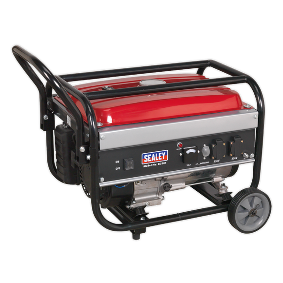 Sealey Generator 3100W 230V 7hp
