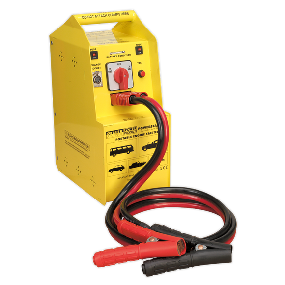 Sealey PowerStart Emergency Jump Starter 900hp Start 12/24V