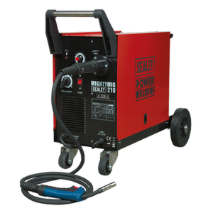 Sealey Professional Gas/No-Gas MIG Welder 210A with Euro Torch