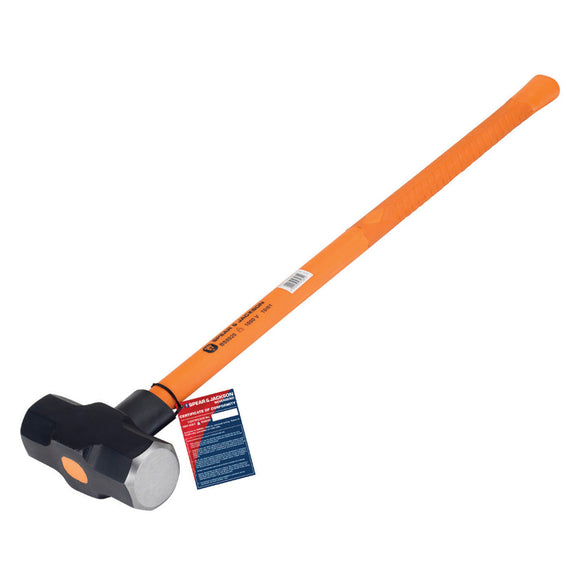 Spear & Jackson Insulated 14lb(6.3kg) Sledge Hammer