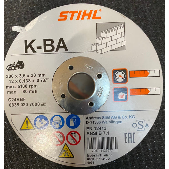 Stihl Stone Cutting Disc