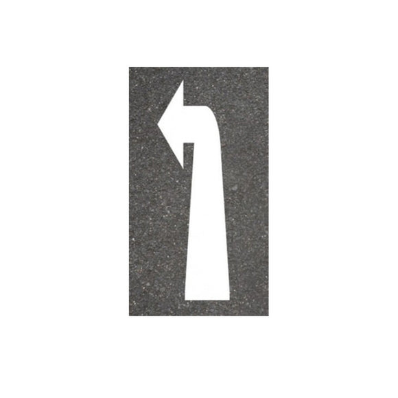 Thermoplastic Left Arrow Road Markings