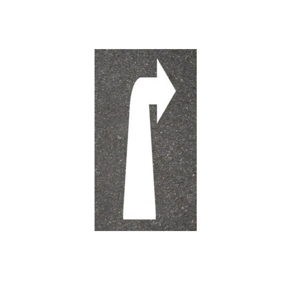Thermoplastic Right Arrow Road Markings