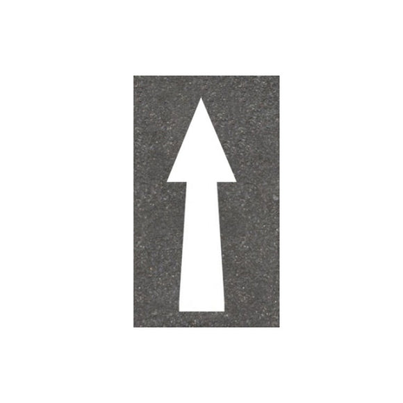 Thermoplastic Straight Arrow Road Markings