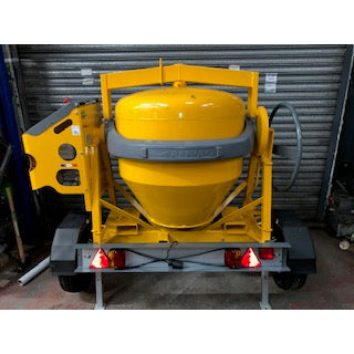 Altrad Belle 480L Tow-Behind Petrol Engine Mixer