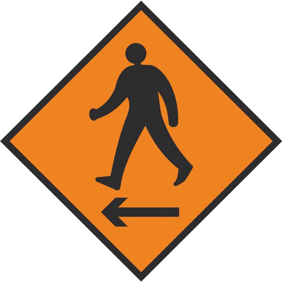 WK 080 Pedestrians Cross to Left