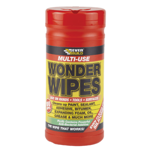 Everbuild Multi-Use Wonder Wipes (Box of 6 tubs)