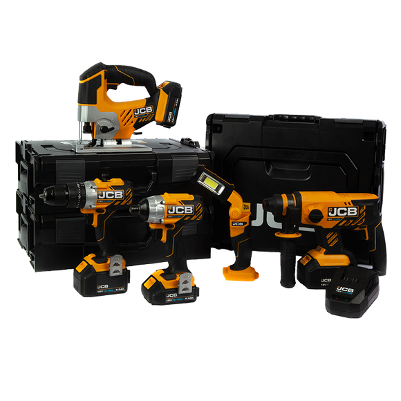JCB 18v 5 Piece Multi Kit 2