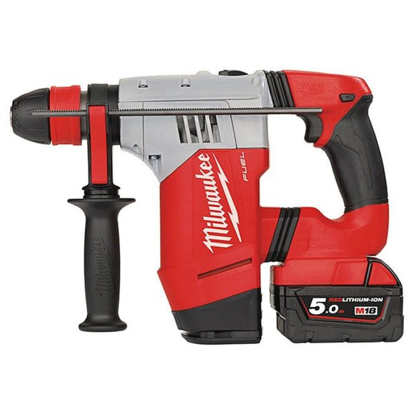 MILWAUKEE 4.0 JOULES FUEL BRUSHLESS CORDLESS 4 MODE SDS HAMMER DRILL 5.0AH