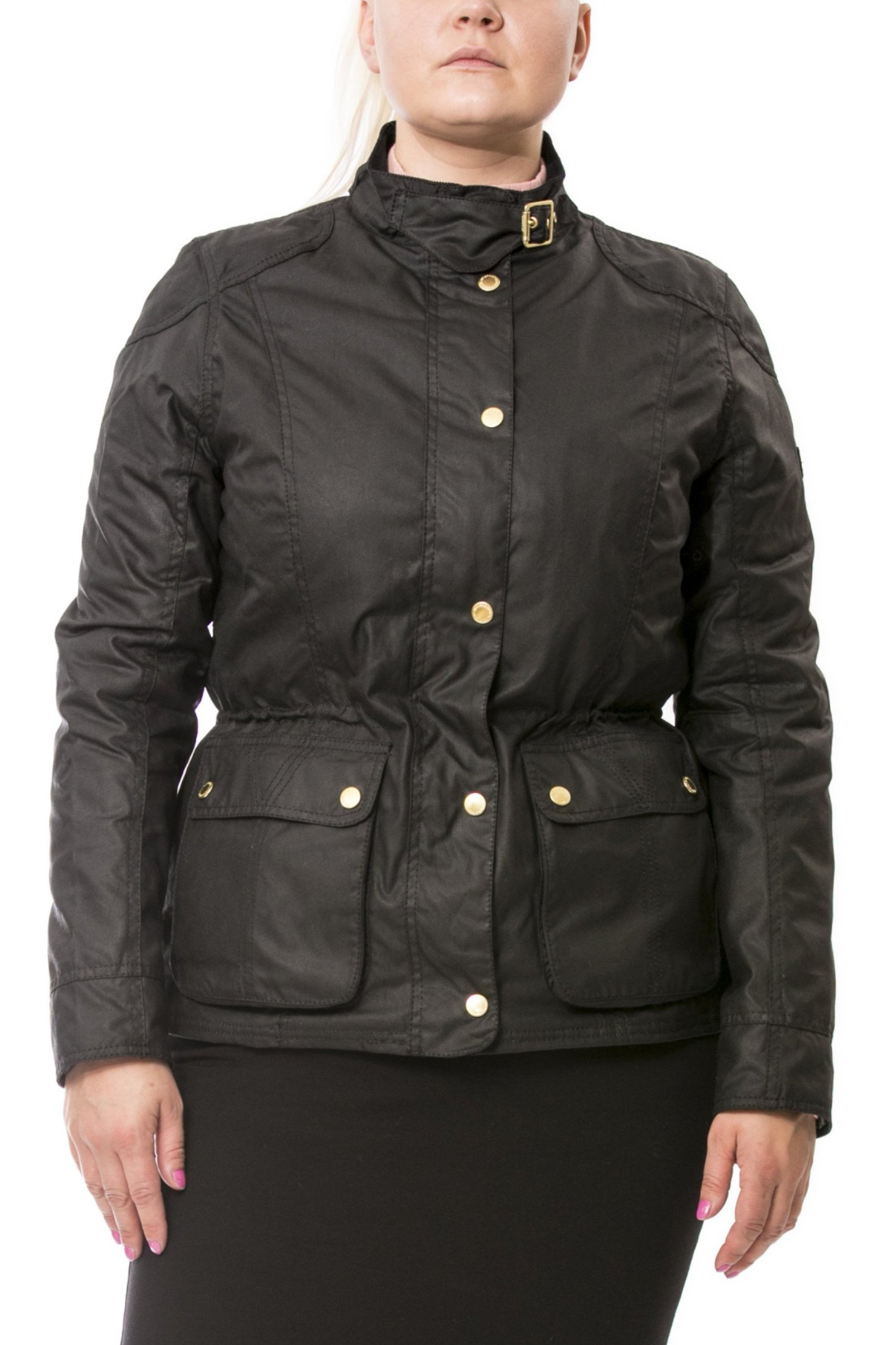 Barbour int. waxed jacket Fascia