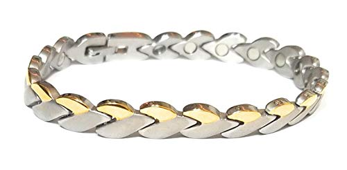 316L Stainless Steel magnetic bracelet 7.5 inches