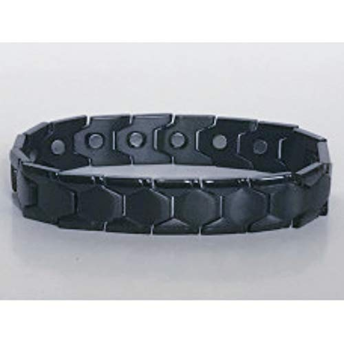 316L stainless steel black magnetic bracelet