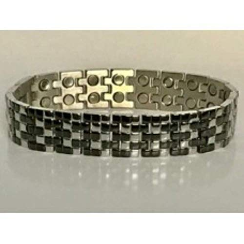 316L Stainless Steel double magnetic bracelet