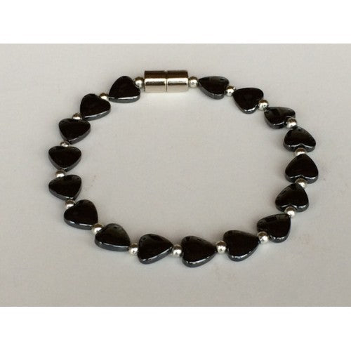 Magnetic Single Hematite Bracelets
